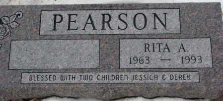 PEARSON, RITA A. - Turner County, South Dakota   RITA A. PEARSON - South Dakota Gravestone Photos
