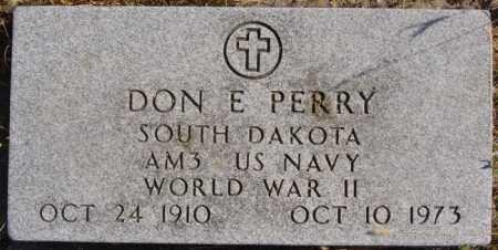 PERRY, DON E - Turner County, South Dakota | DON E PERRY - South Dakota Gravestone Photos