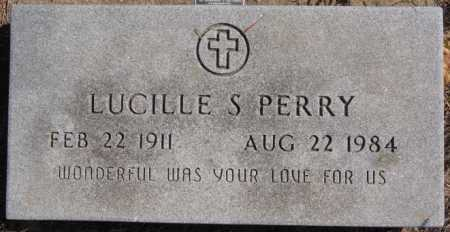 PERRY, LUCILLE S - Turner County, South Dakota | LUCILLE S PERRY - South Dakota Gravestone Photos