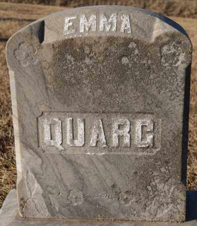 QUARG, EMMA - Turner County, South Dakota | EMMA QUARG - South Dakota Gravestone Photos