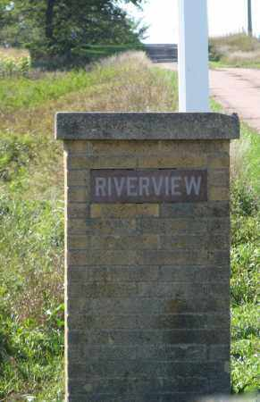 *RIVERVIEW CEMETERY, ROAD SIGN LEFT - Turner County, South Dakota | ROAD SIGN LEFT *RIVERVIEW CEMETERY - South Dakota Gravestone Photos