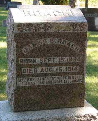 ROACH, JAMES E. - Turner County, South Dakota | JAMES E. ROACH - South Dakota Gravestone Photos