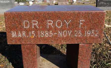 SACKETT, ROY F - Turner County, South Dakota   ROY F SACKETT - South Dakota Gravestone Photos