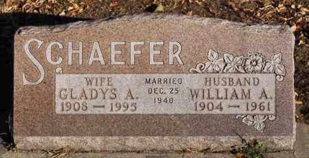 SCHAEFER, GLADYS A - Turner County, South Dakota | GLADYS A SCHAEFER - South Dakota Gravestone Photos