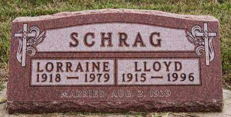 SCHRAG, LLOYD - Turner County, South Dakota | LLOYD SCHRAG - South Dakota Gravestone Photos
