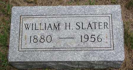 SLATER, WILLIAM H. - Turner County, South Dakota   WILLIAM H. SLATER - South Dakota Gravestone Photos