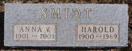 SMIDT, HAROLD - Turner County, South Dakota | HAROLD SMIDT - South Dakota Gravestone Photos