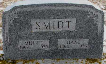SMIDT, MINNIE - Turner County, South Dakota | MINNIE SMIDT - South Dakota Gravestone Photos