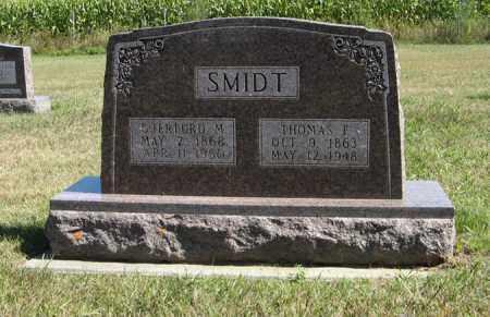 SMIDT, THOMAS F. - Turner County, South Dakota | THOMAS F. SMIDT - South Dakota Gravestone Photos