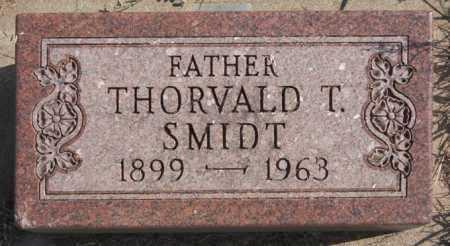 SMIDT, THORVALD T - Turner County, South Dakota | THORVALD T SMIDT - South Dakota Gravestone Photos