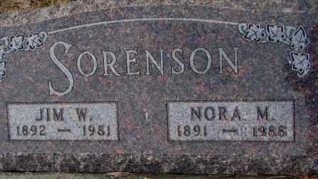 SORENSON, NORA M. - Turner County, South Dakota | NORA M. SORENSON - South Dakota Gravestone Photos