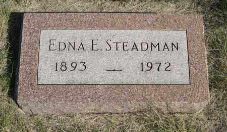 STEADMAN, EDNA E. - Turner County, South Dakota | EDNA E. STEADMAN - South Dakota Gravestone Photos