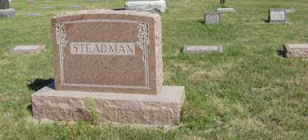 STEADMAN, FAMILY - Turner County, South Dakota | FAMILY STEADMAN - South Dakota Gravestone Photos