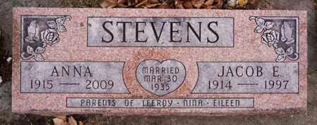 STEVENS, JACOB E - Turner County, South Dakota | JACOB E STEVENS - South Dakota Gravestone Photos