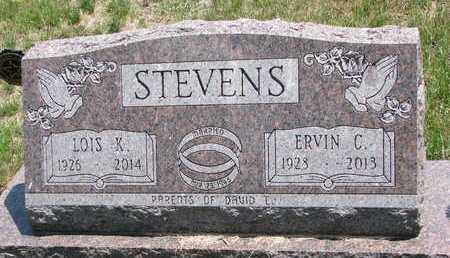 STEVENS, ERVIN C - Turner County, South Dakota | ERVIN C STEVENS - South Dakota Gravestone Photos