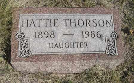THORSON, HATTIE - Turner County, South Dakota | HATTIE THORSON - South Dakota Gravestone Photos