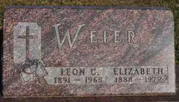 WEIER, ELIZABETH - Turner County, South Dakota | ELIZABETH WEIER - South Dakota Gravestone Photos