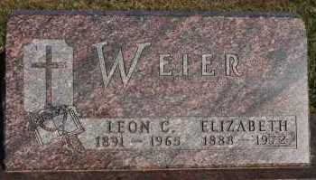 WEIER, LEON C. - Turner County, South Dakota | LEON C. WEIER - South Dakota Gravestone Photos