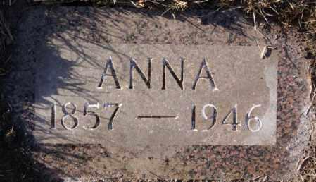 WITTENBERG, ANNA - Turner County, South Dakota | ANNA WITTENBERG - South Dakota Gravestone Photos