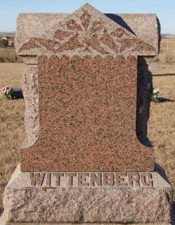 WITTENBERG, FAMILY MARKER - Turner County, South Dakota   FAMILY MARKER WITTENBERG - South Dakota Gravestone Photos