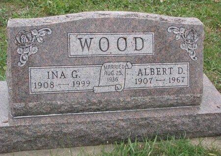 WOOD, INA G. - Turner County, South Dakota | INA G. WOOD - South Dakota Gravestone Photos