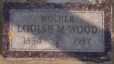 WOOD, LOUISE M - Turner County, South Dakota | LOUISE M WOOD - South Dakota Gravestone Photos