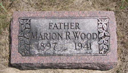 WOOD, MARION R. - Turner County, South Dakota | MARION R. WOOD - South Dakota Gravestone Photos