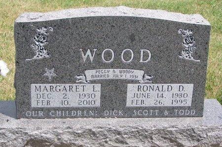 WOOD, RONALD D. - Turner County, South Dakota | RONALD D. WOOD - South Dakota Gravestone Photos