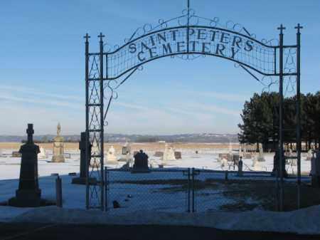 *** ST. PETERS, ENTRY GATE - Union County, South Dakota | ENTRY GATE *** ST. PETERS - South Dakota Gravestone Photos