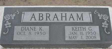 ABRAHAM, KEITH GORDON - Union County, South Dakota | KEITH GORDON ABRAHAM - South Dakota Gravestone Photos