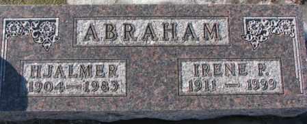 ABRAHAM, IRENE P. - Union County, South Dakota | IRENE P. ABRAHAM - South Dakota Gravestone Photos