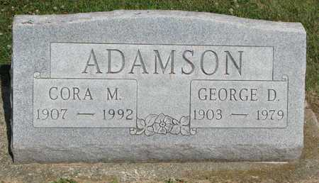 ADAMSON, GEORGE D - Union County, South Dakota | GEORGE D ADAMSON - South Dakota Gravestone Photos