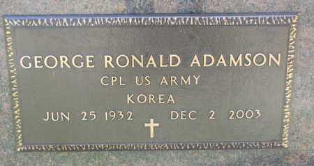 ADAMSON, GEORGE RONALD (KOREA) - Union County, South Dakota | GEORGE RONALD (KOREA) ADAMSON - South Dakota Gravestone Photos