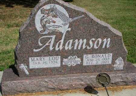 ADAMSON, MARY LOU - Union County, South Dakota | MARY LOU ADAMSON - South Dakota Gravestone Photos
