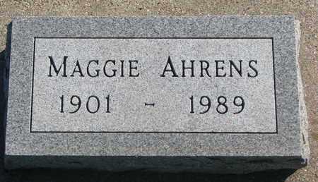 AHRENS, MAGGIE - Union County, South Dakota   MAGGIE AHRENS - South Dakota Gravestone Photos