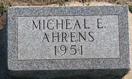 AHRENS, MICHAEL E. - Union County, South Dakota | MICHAEL E. AHRENS - South Dakota Gravestone Photos