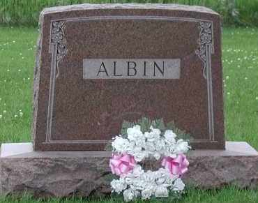 ALBIN, *PLOT - Union County, South Dakota | *PLOT ALBIN - South Dakota Gravestone Photos