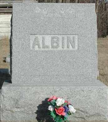 ALBIN, PLOT - Union County, South Dakota | PLOT ALBIN - South Dakota Gravestone Photos