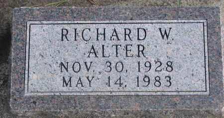 ALTER, RICHARD A. - Union County, South Dakota | RICHARD A. ALTER - South Dakota Gravestone Photos
