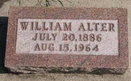 ALTER, WILLIAM - Union County, South Dakota | WILLIAM ALTER - South Dakota Gravestone Photos