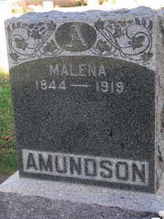 AMUNDSON, MALENA - Union County, South Dakota   MALENA AMUNDSON - South Dakota Gravestone Photos
