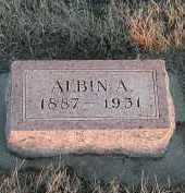 ANDERSON, ALBIN A - Union County, South Dakota | ALBIN A ANDERSON - South Dakota Gravestone Photos