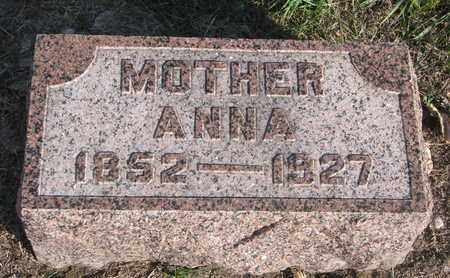 ANDERSON, ANNA - Union County, South Dakota | ANNA ANDERSON - South Dakota Gravestone Photos