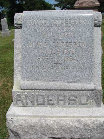 ANDERSON, DAVID - Union County, South Dakota | DAVID ANDERSON - South Dakota Gravestone Photos
