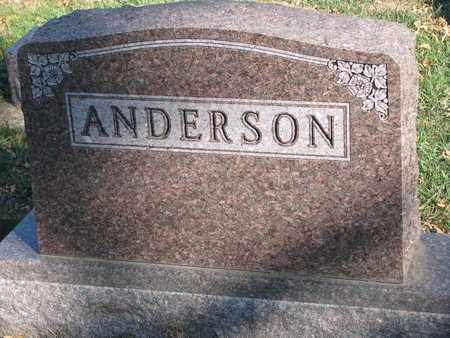 ANDERSON, FAMILY STONE - Union County, South Dakota | FAMILY STONE ANDERSON - South Dakota Gravestone Photos