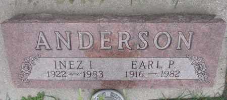 ANDERSON, EARL P. - Union County, South Dakota | EARL P. ANDERSON - South Dakota Gravestone Photos