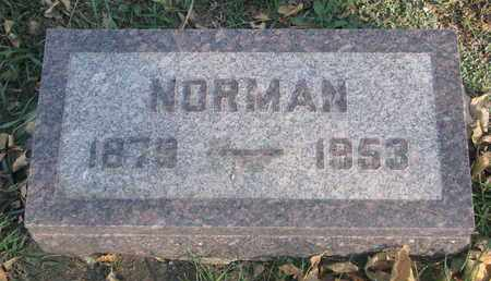 ANDERSON, NORMAN - Union County, South Dakota   NORMAN ANDERSON - South Dakota Gravestone Photos