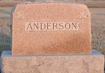 ANDERSON, PLOT - Union County, South Dakota   PLOT ANDERSON - South Dakota Gravestone Photos