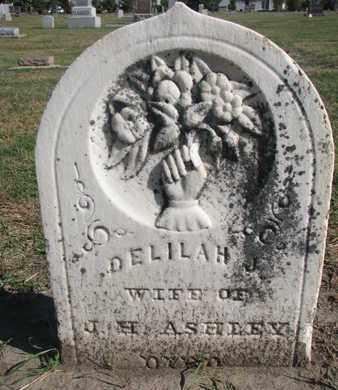 ASHLEY, DELILAH J. - Union County, South Dakota | DELILAH J. ASHLEY - South Dakota Gravestone Photos