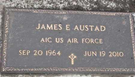 AUSTAD, JAMES E. (MILITARY) - Union County, South Dakota | JAMES E. (MILITARY) AUSTAD - South Dakota Gravestone Photos